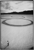Michael Heizer Circular Surface, 1970. Photographer: © Gianfranco Gorgoni, 2014.