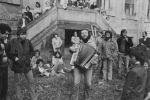 Jim Čert Horáček, vernisáž 26.9.1981 Plasy,  (). Fotograf: Bořivoj Hořínek, Jan Malý, Iren Stehli © (Dušan Šimánek Archive)