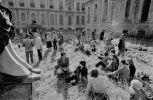rajský dvůr vernisáž 26.9.1981 Plasy  (). Fotograf: Bořivoj Hořínek, Jan Malý, Iren Stehli © (Dušan Šimánek Archive)