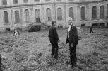 vernisáž 26.9.1981 Anna Fárová a Henri Cartier-Bresson (). Fotograf: Bořivoj Hořínek, Jan Malý, Iren Stehli © (Dušan Šimánek Archive)