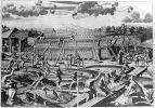 Athanasius Kircher: Noe building the ark (1997). Photographer: Archive