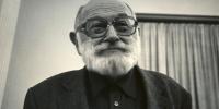 Vilém Flusser. Photo: Josef Snobl