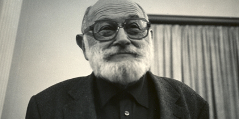 Vilém Flusser. Photo: Josef Snobl