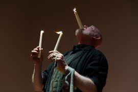 Alistair McLennan: Alastair Maclennan at Venice International Performance, photo Monika Sobczak (2014). Fotograf: archive