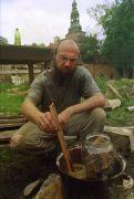 Jan Svoboda: včelí vosk (1995). Fotograf: Avraham Eilat