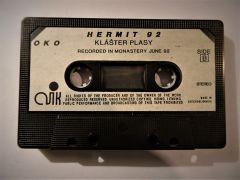 Hermit 92 audiocassette (1992). Photographer: archive