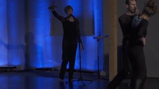 Ute Wassermann in performance