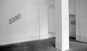 Linda Vinck: without title (Rhytm) — convent (1994). Fotograf: Daniel Šperl