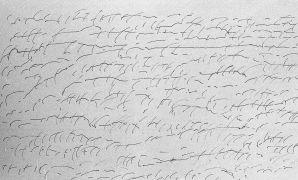 Inge Kosková: Drawings — ink, paper (1997). Photographer: Daniel Šperl