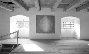 Jiří Melzer: Untitled — ink drawing on paper (1997). Photographer: Daniel Šperl
