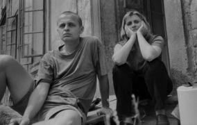 Martina Tomášková: Karel SIdorjak a Martina Tomášková (1995). Fotograf: David Miller